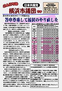 こんにちは横浜市議団です 11.18