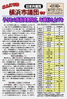 「こんにちは横浜市議団です」2010年7月14日
