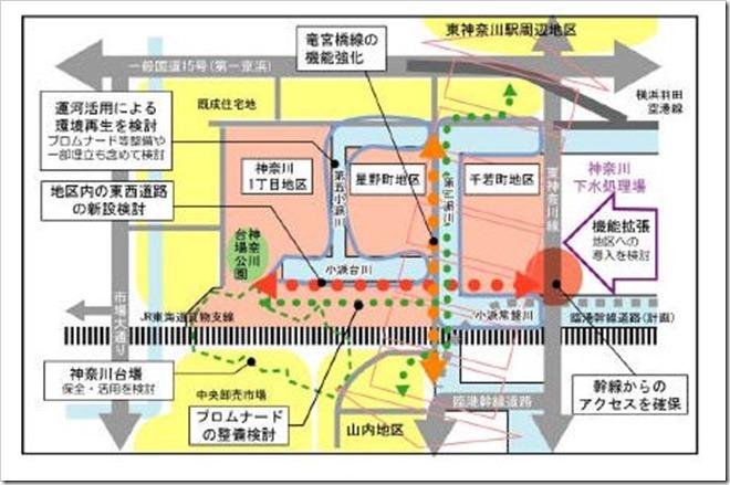東神奈川臨海部周辺地区再編整備計画