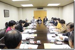 前橋市にぎわい商業課職員の話を聞く日本共産党横浜市議団