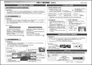 大阪IR基本構想(概要版)1